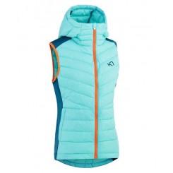 Kari Traa Eva Hybrid Vest, blue, T/E