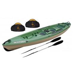 Bic Borneo Fishing Pakke m. 2 Sæder & 2 Pagajer