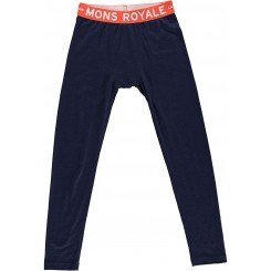 Mons Royale Boys Groms Legging, navy