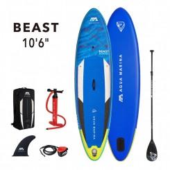 """Aqua Marina Beast 10'6"""" Oppustelig SUP-Pakke Komplet 2021"""