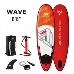 "Aqua Marina Wave 8'8"" SUP-Pakke 2021"