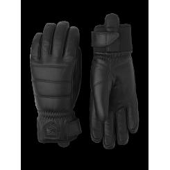 Hestra Alpine Leather Primaloft Handske, Sort, T/E