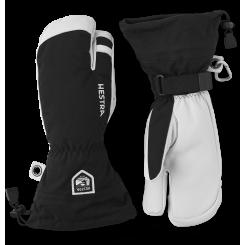 Hestra Army Leather Heli Ski 3F, Black, T/E
