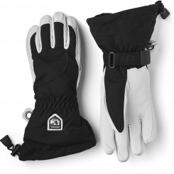Hestra Army Leather Heli Ski 5F Dame, Black, T/E