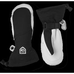 Hestra Army Leather Heli Ski Luffe Dame, Black, T/E