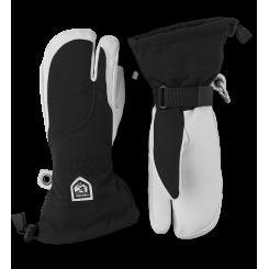 Hestra Army Leather Heli Ski 3F Dame, Black, T/E