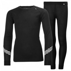 Helly Hansen Jr. Lifa Dry Sæt, black