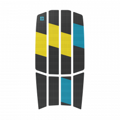 Duotone Traction Pad Team Front 3MM 2021 Dark Grey/Yellow