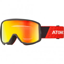 Atomic Count Jr. Cylindrical Black & Red / Red