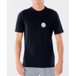 Rip Curl Wettie Logo S/SL UV Tee, Black