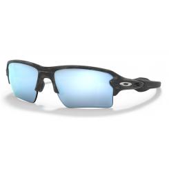 Oakley Flak 2.0 XL Matte Black Camo / Prizm Deep Water Polarized
