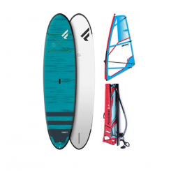 """Fanatic Fly Soft Top 10'6"""" SUP 2021 m/ STX Powerkid Rig"""